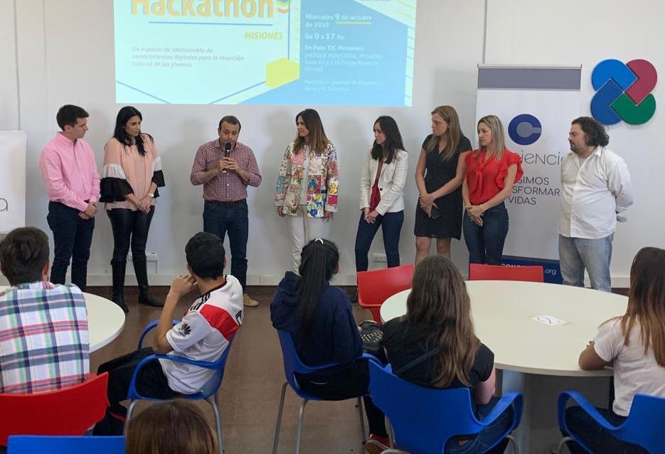 Se realizó el Hackathon del Polo TIC