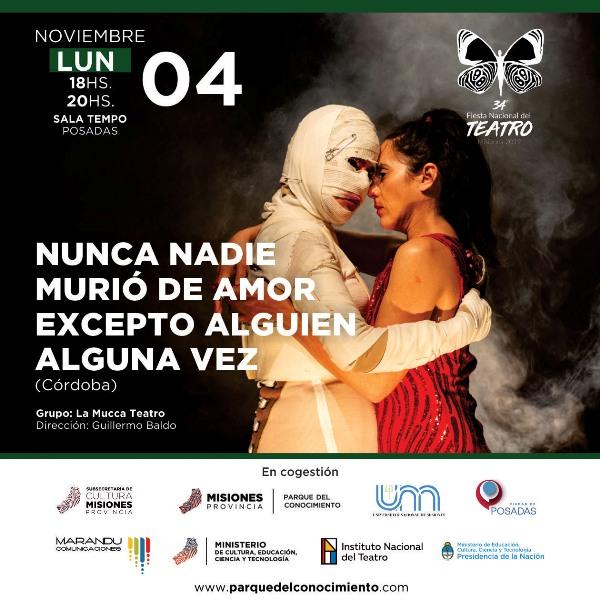 Posadas sede de la 34° Fiesta Nacional del Teatro